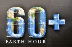 Het uur van de aarde Royalty-vrije Stock Foto