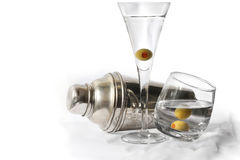 Het Uur van de cocktail Royalty-vrije Stock Afbeeldingen