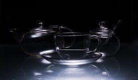 Het vaatwerk van het glas Royalty-vrije Stock Foto