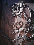 Het vakmanschap op de houten raad stock fotografie