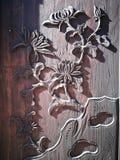 Het vakmanschap op de houten raad stock afbeelding