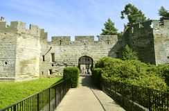 Het valhek van het Warwickkasteel Royalty-vrije Stock Fotografie