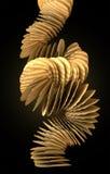 Het Vallen van de Stapel van Chips stock illustratie