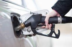 Het van brandstof voorzien van de auto royalty-vrije stock foto