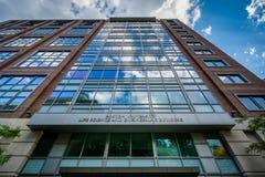 Het van de het Levenswetenschap en Techniek Gebouw bij de Universiteit van Boston, stock foto