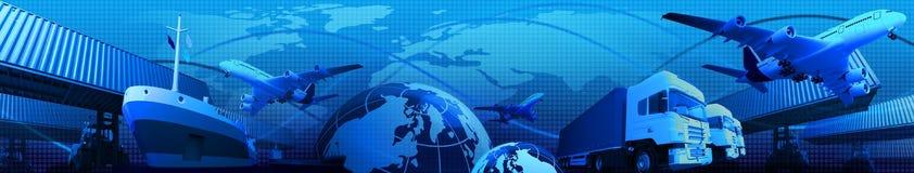 Het van het vervoer economische activiteiten Royalty-vrije Stock Foto