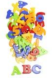 Het van letters voorzien ABC Royalty-vrije Stock Foto
