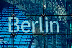 Het Van letters voorzien van Berlijn Stock Afbeelding