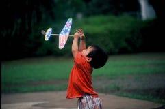 Het vangen van American Dream royalty-vrije stock afbeelding