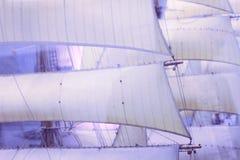 Het varen aan dromenland stock foto