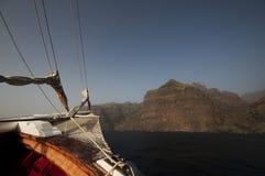 Het varen aan land Royalty-vrije Stock Fotografie