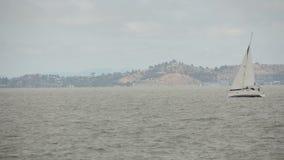 Het varen in de Baai van San Francisco Stock Afbeelding