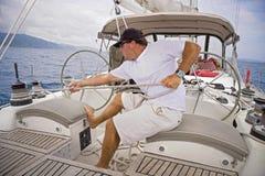 Het varen in de keerkringen Royalty-vrije Stock Fotografie