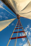Het varen in de Sleutels die op Zonsondergang wachten Royalty-vrije Stock Afbeeldingen