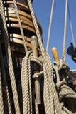 Het varen details Stock Foto's