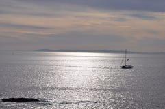 Het varen door Catalina Stock Fotografie