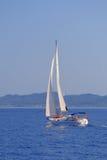 Het varen in Griekenland Royalty-vrije Stock Foto's