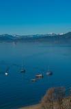 Het varen in het blauw Stock Fotografie