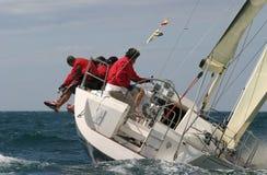 Het varen in het Middellandse-Zeegebied   Stock Afbeelding