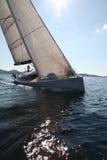 Het varen op het Adriatische Overzees Stock Afbeeldingen