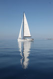 Het varen op het Adriatische Overzees Royalty-vrije Stock Fotografie