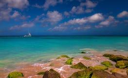 Het varen in Paradijs stock foto