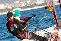 Het varen Regatta Royalty-vrije Stock Foto