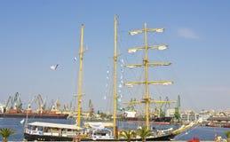 Het varen regatta, Varna Stock Afbeelding