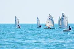 Het varen van de regatta Royalty-vrije Stock Foto