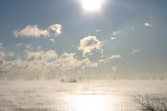 Het varen van de wolk Royalty-vrije Stock Foto's