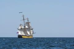 Het varen van fregatshtandart Royalty-vrije Stock Fotografie