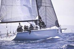 40º het varen van Trophy Conde DE Godo stock foto's