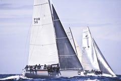 40º het varen van Trophy Conde DE Godo stock foto