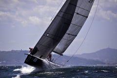 40º het varen van Trophy Conde DE Godo stock fotografie