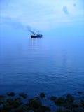 Het varen vanaf haven Royalty-vrije Stock Foto's