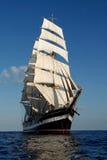 Het varende schip Stock Foto