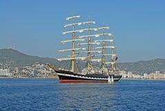 Het varende schip Stock Afbeeldingen