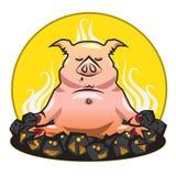 Het varken stock illustratie