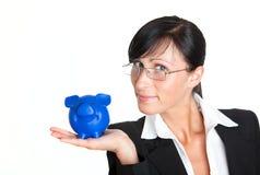 Het varken van de investering Stock Fotografie