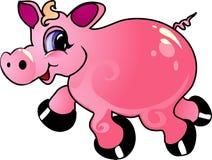 Het varken van het beeldverhaal vector illustratie