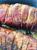 Het varkensvlees bakte broodje Royalty-vrije Stock Foto's