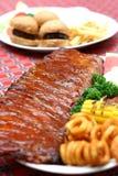Het varkensvlees scheurt Royalty-vrije Stock Fotografie