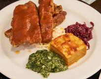 Het varkensvlees scheurt Royalty-vrije Stock Foto's