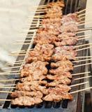 Het varkensvlees van de grill Royalty-vrije Stock Afbeeldingen