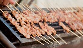 Het varkensvlees van de grill Stock Foto's