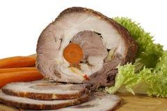 Het Varkensvlees van het braadstuk royalty-vrije stock foto
