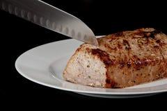 Het Varkensvlees van het braadstuk Royalty-vrije Stock Afbeeldingen