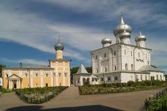 Het varlaamo-Khutyn klooster, Rusland Stock Foto