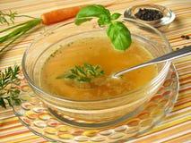 Het vasten soep Stock Foto's