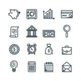 Het vastgestelde document van het de dienstrapport van de financiënbelasting vector illustratie